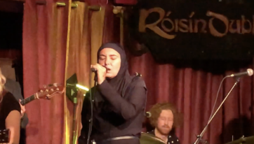WATCH: Sinead O'Connor wows Galway on the first leg of her Irish tour