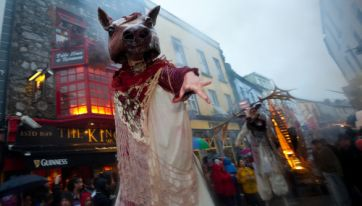Macnas has revealed this year's Galway parade route