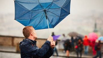 Status yellow weather warnings in place for six counties