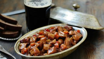 The country's favourite stout dinner dishes have been revealed