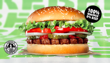 Plant-based Rebel Whopper launched by Burger King in Ireland