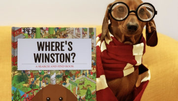You can now make a 'Where's Wally' type book featuring your dog
