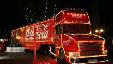 Here's where and when the Coca-Cola truck will be stopping off