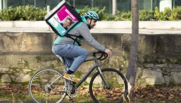 Photos of missing people to appear on Deliveroo riders' bags this month
