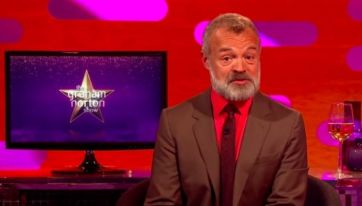 It's going to be tough to beat this week's Graham Norton Show line-up
