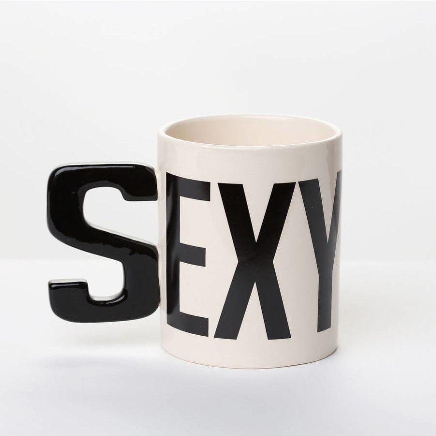 Original Alphabet Mug Sexy