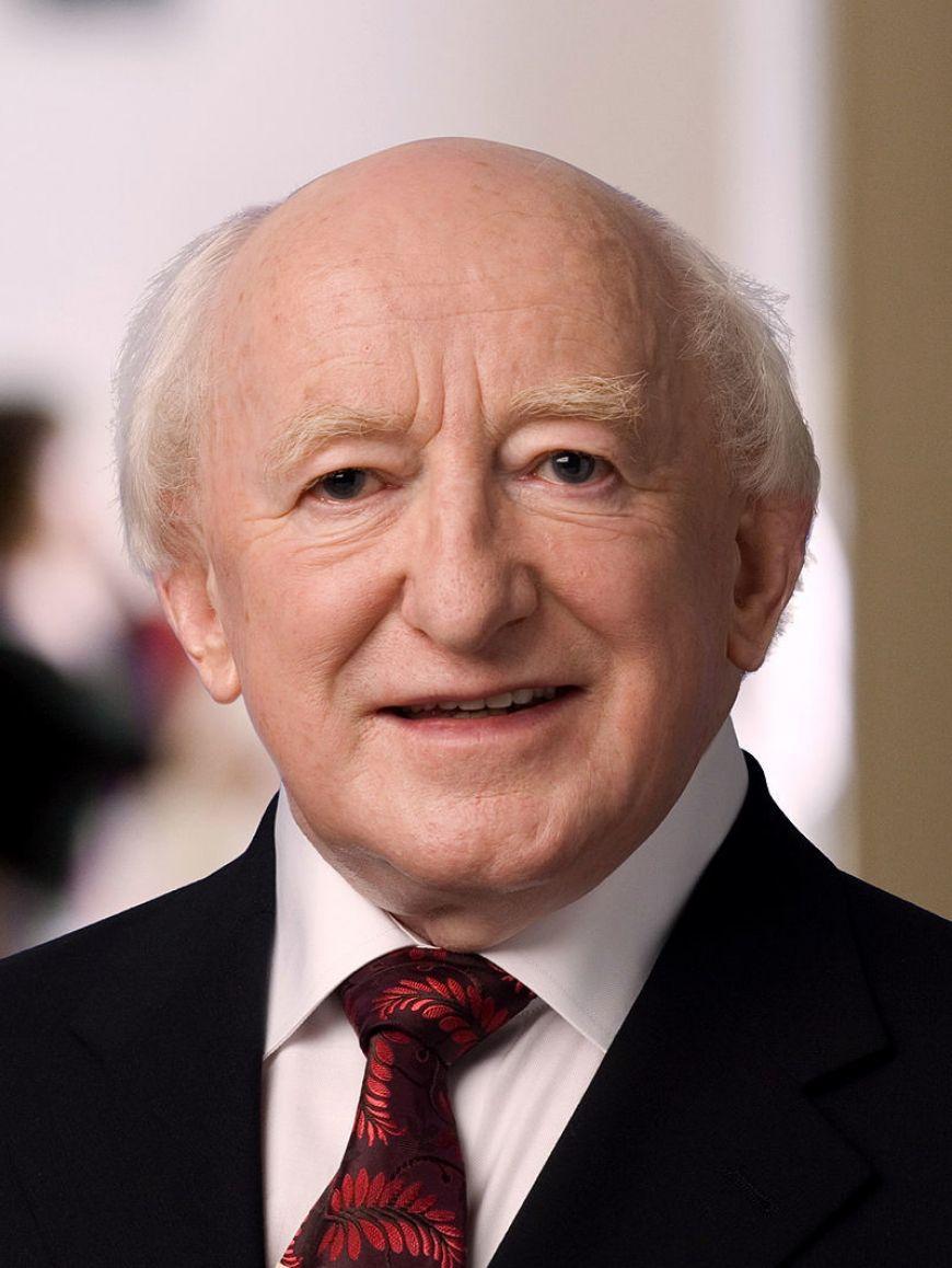 Michael D  Higgins 2006