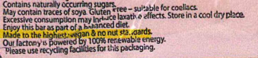 Plamil Nut Statement 21