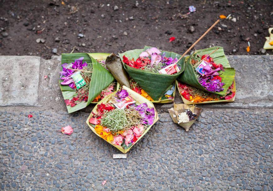 Bali Hindu Offerings