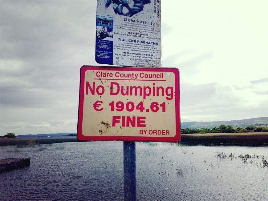 Clare Dumping Fine