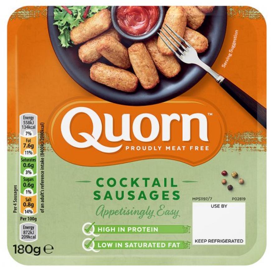 Quorn Cocktail Sausages