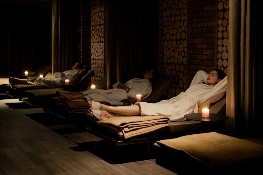Osprey Spa Dark Relaxation Room