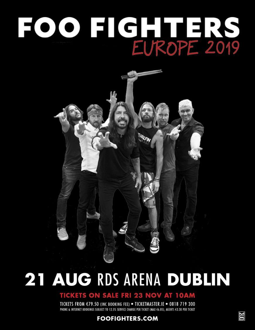 Foo Fighters Dublin 2019 Fp