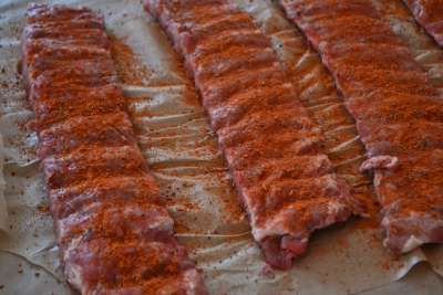 Dry Rub In Ribs