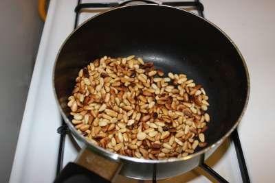 Step 5 Brown Pine Nuts