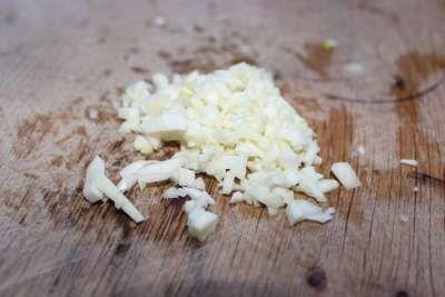 Step 2 Chop Garlic