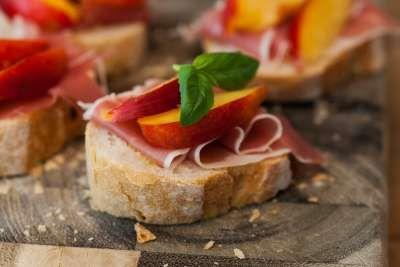 Parma Melon Bruschetta6