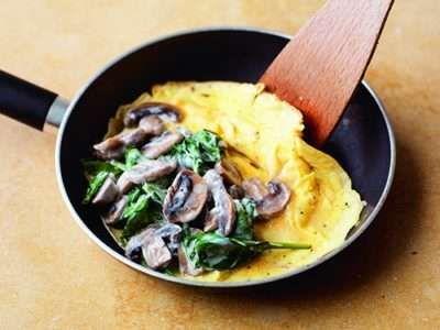 Omelette Step 3
