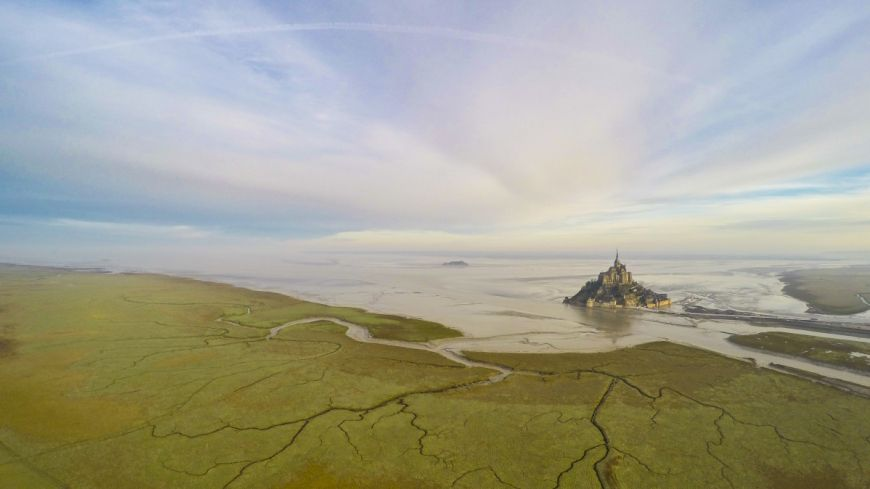 2nd  Prize  Category  Places  Mont  Saint  Michel  Normandie  France By  Jeremie  Eloy