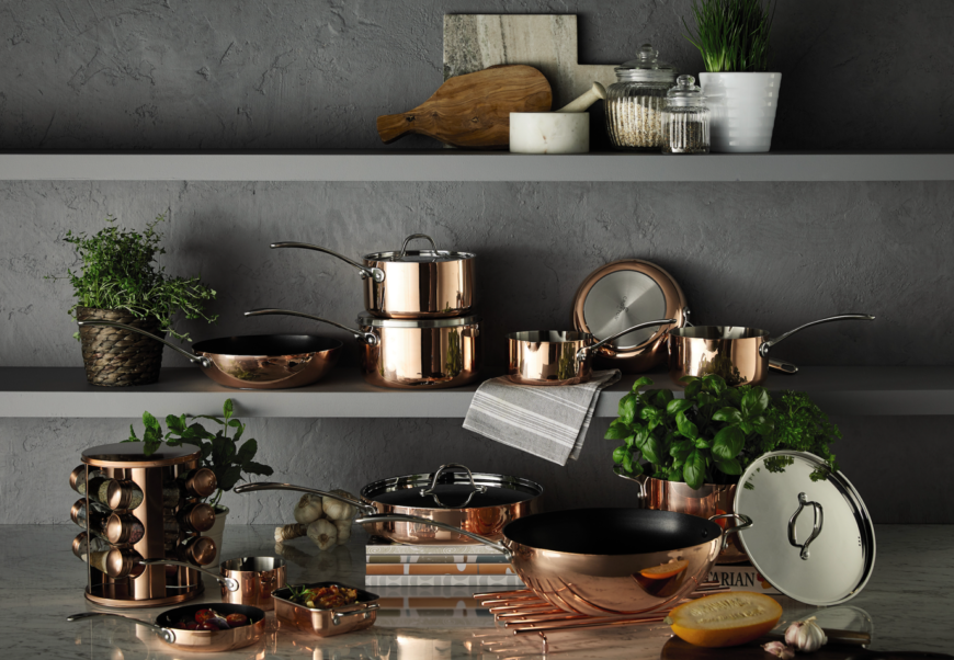 Aldi Copper Pans