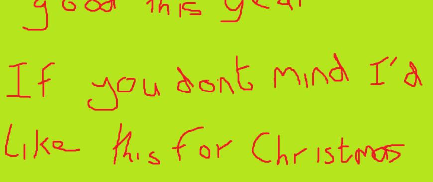 Dear Santy 6