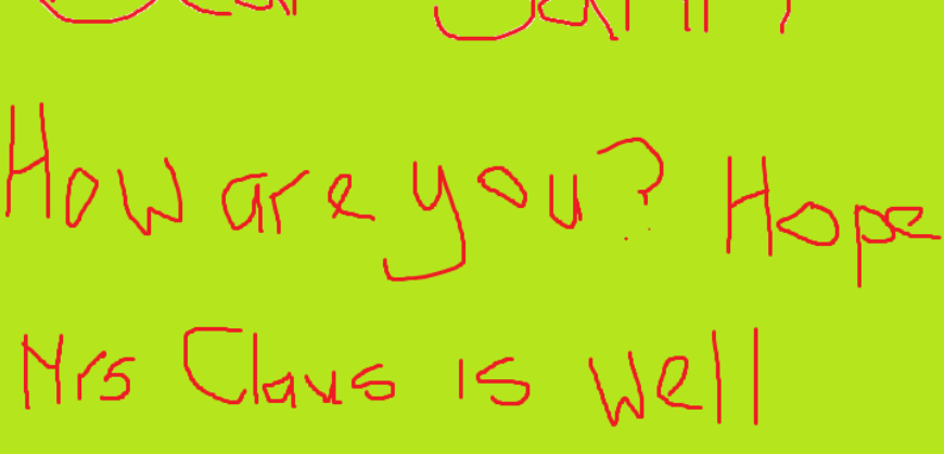 Dear Santy 3