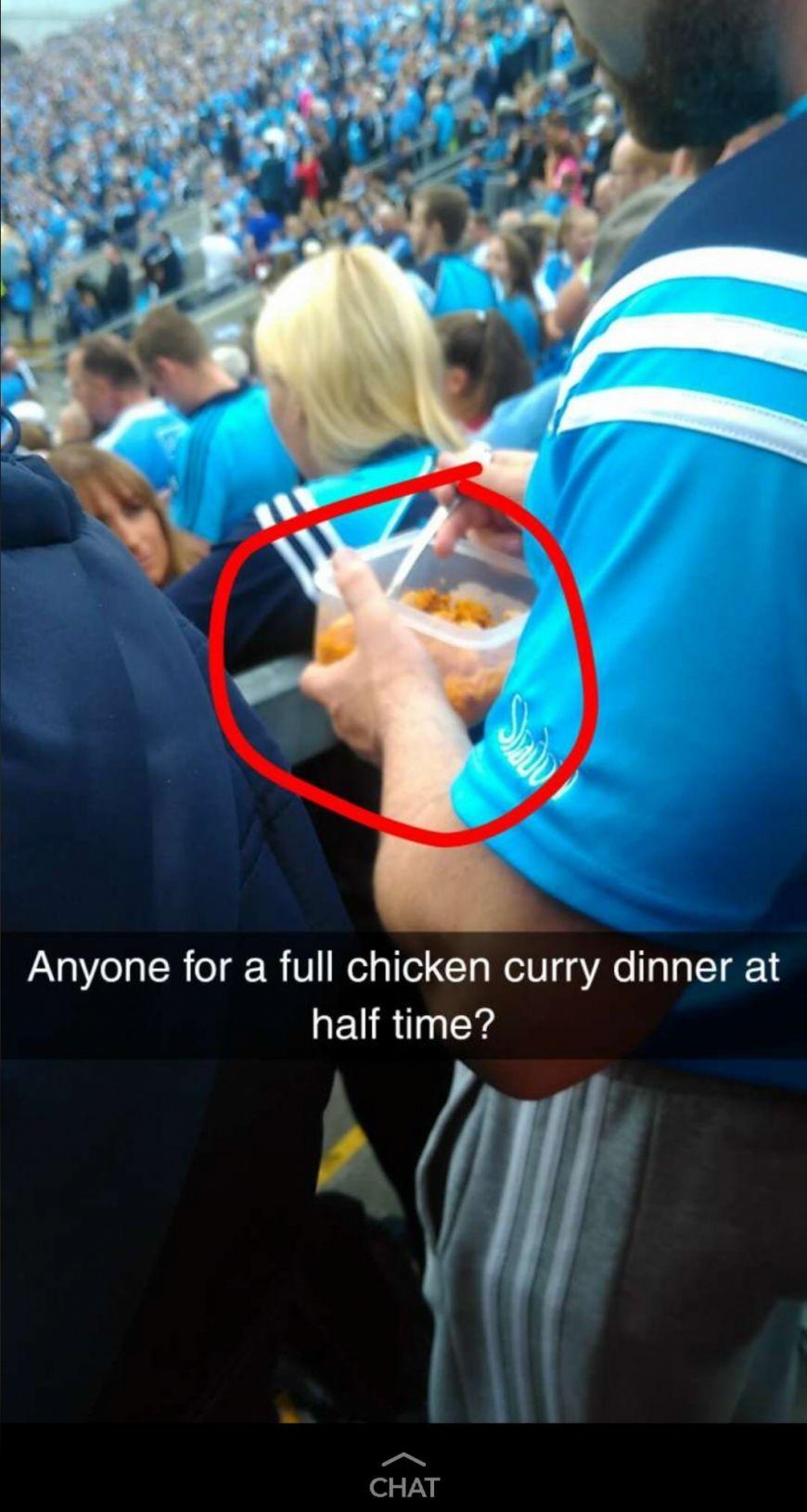 Dublin Fan Curry