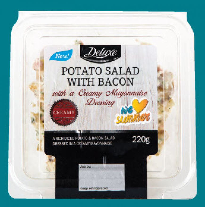 Lidl Deluxe Potato Salad With Bacon
