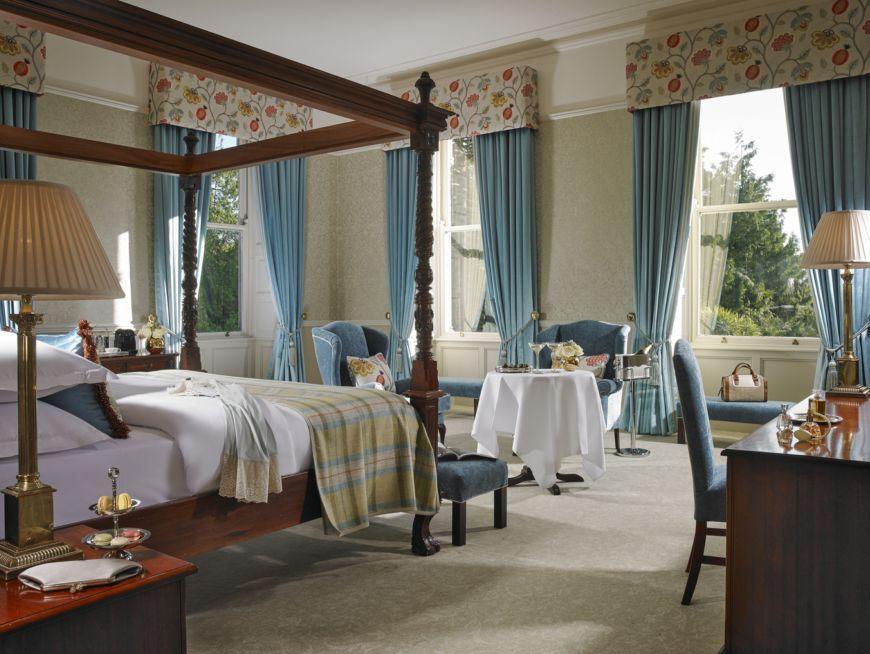 Master Executive Cornilious Bolton Room At Faithlegg House Hotel Golf