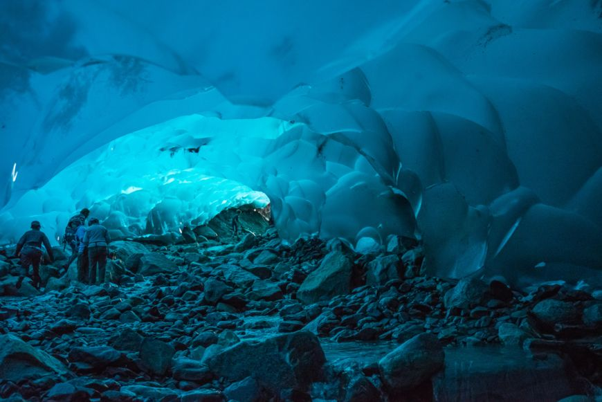 Mendenhall-Ice-Caves-of-Juneau-in-Alaska-United-States