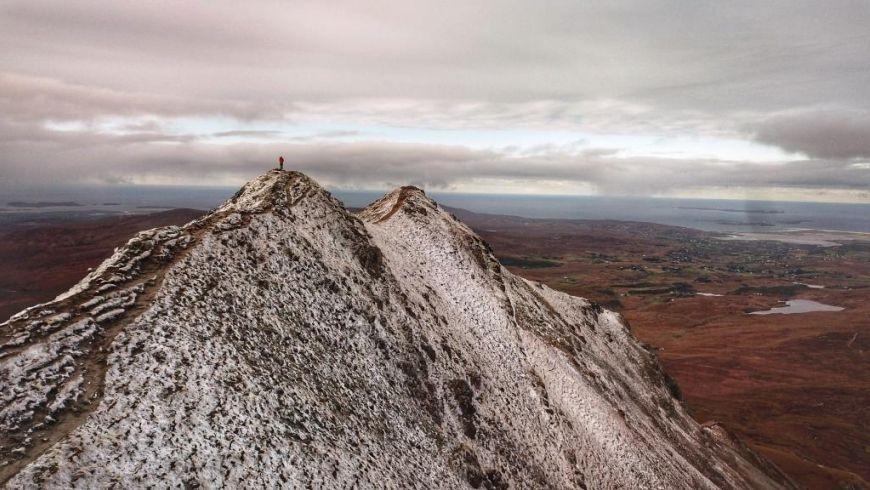 Snowy Errigal 1
