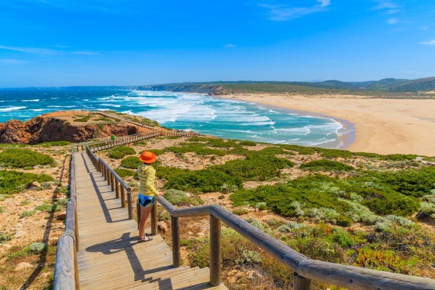 Praia Do Bordeira Algarve Portugal