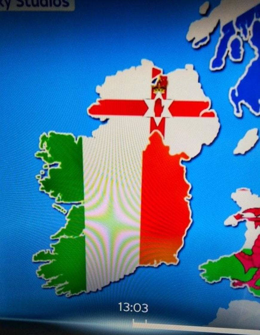 Map Of Ireland Please.People Reckon Sky Sports Just Messed Up This Map Of Ireland On