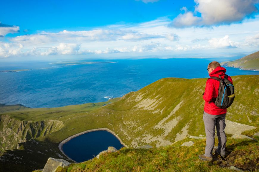 Achill Peaceful Hiker