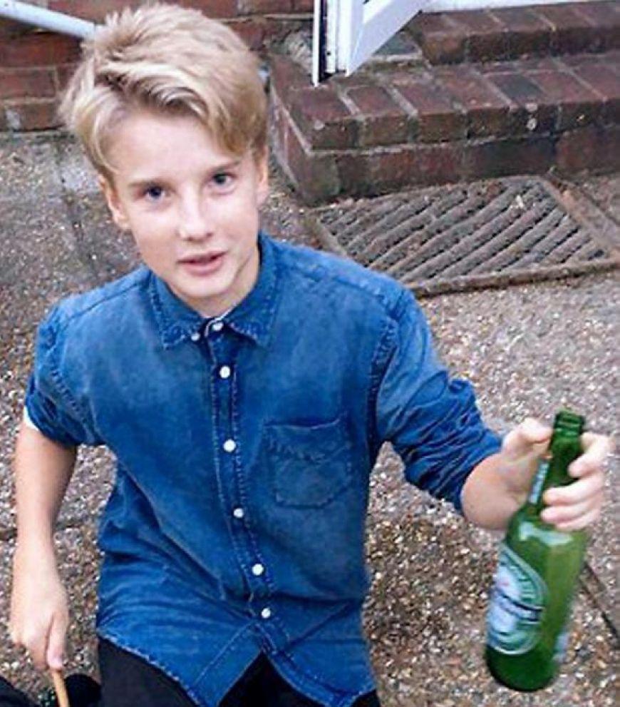 Boy Bottle Cocaine