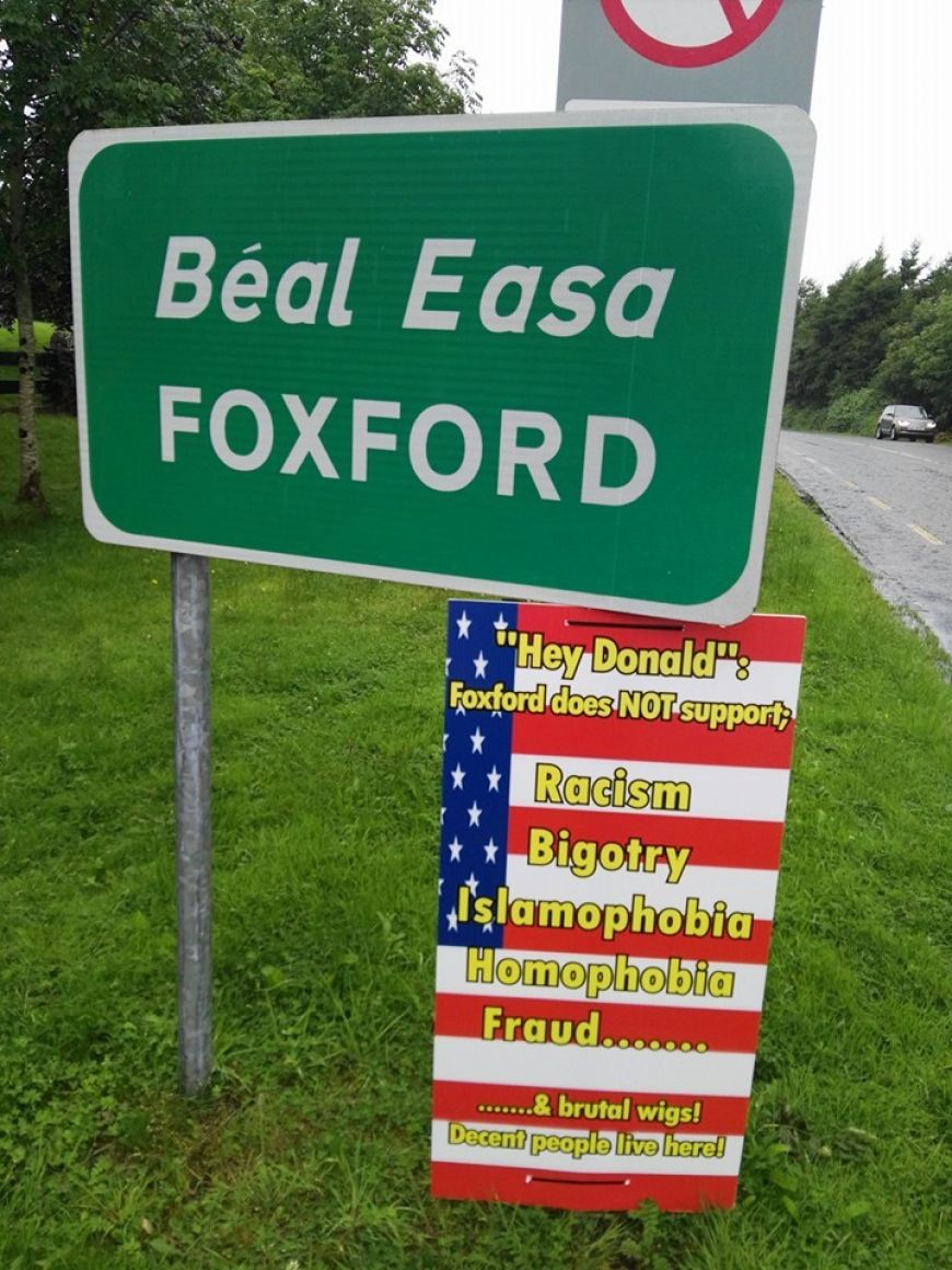 Foxford Sign