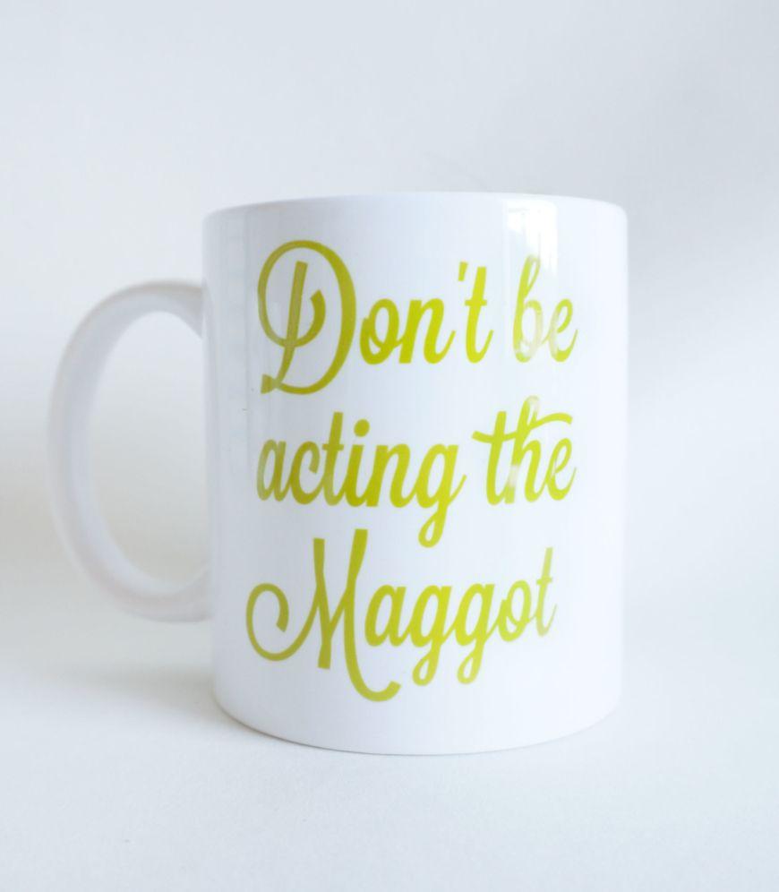 Maggot Mug