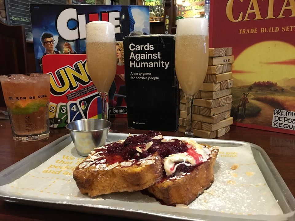 The Square Ball bottomless brunch in Dublin featuring board games
