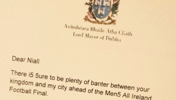 Dublin Lord Mayor Hilariously Trolls Kerry Counterpart Ahead Of All-Ireland Showdown