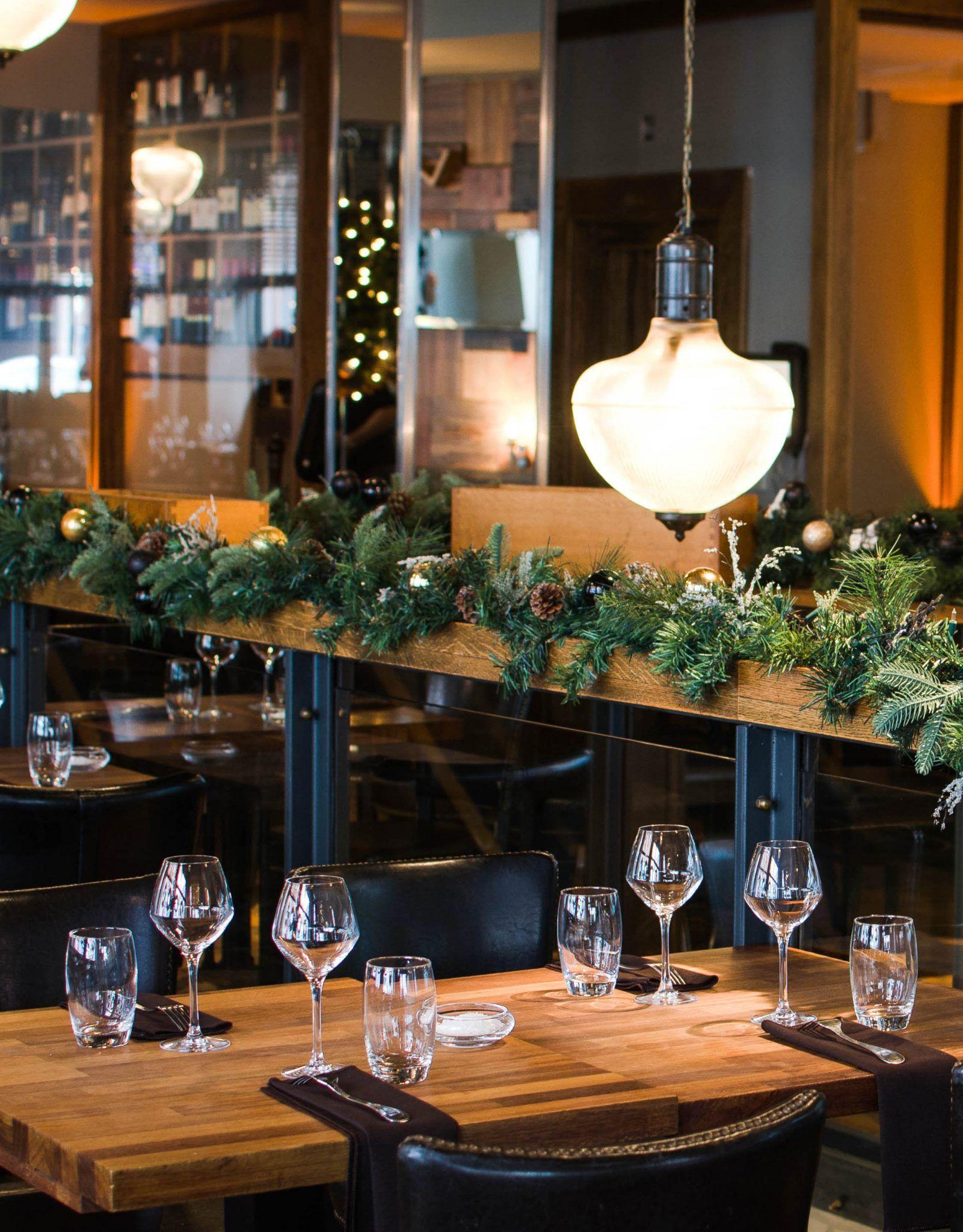 Christmas Restaurant in Dublin at Rustic Stone