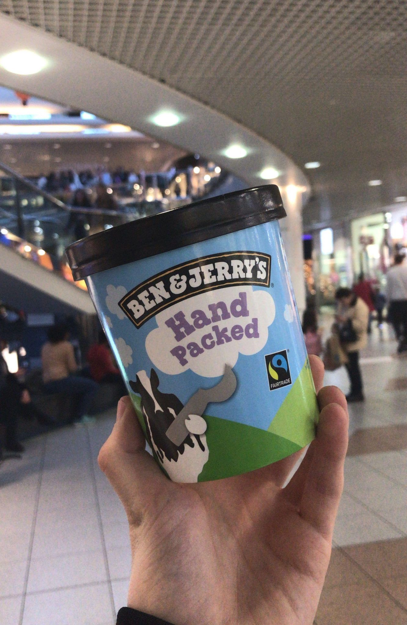 Ben and jerry's hand-packed pint