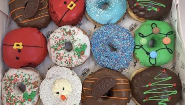Offbeat Donuts release limited edition Christmas donuts