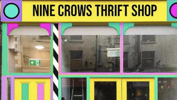 Nine Crows are opening another thrift store this weekend with everything under €30