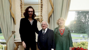 Hozier and Michael D prove they're best friends with adorable picture together