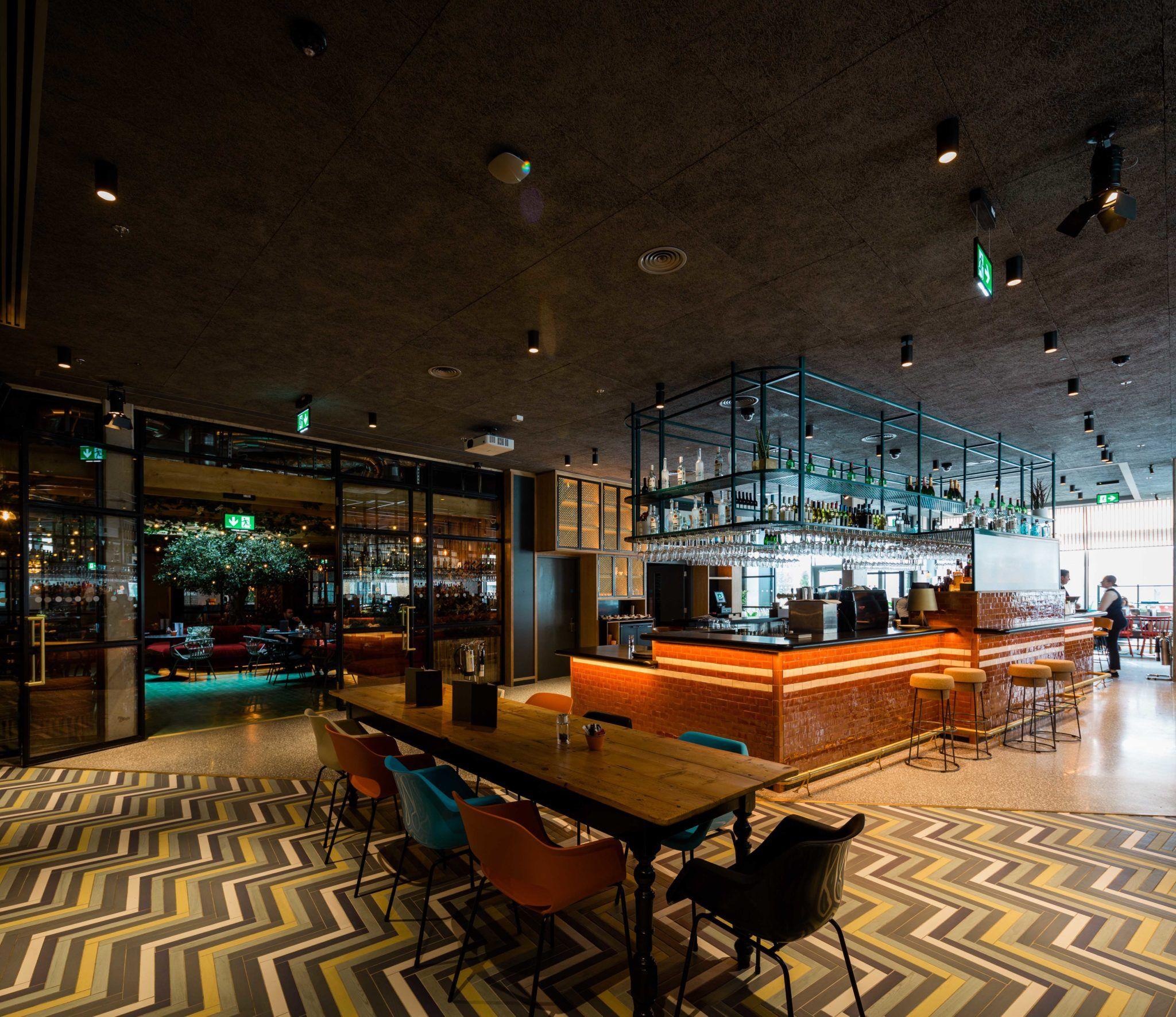 Marlin Hotel Dublin Bar and dining area - new Dublin hotel