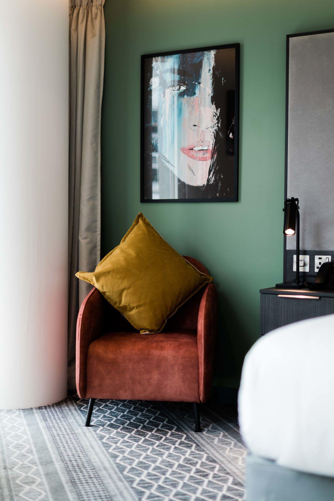 Marlin Hotel Dublin bedroom