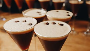 This Italian restaurant is now serving Espresso Martinis on tap