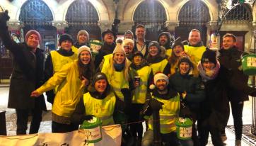 Rain dampens Dublin sleep-out but here's how you can still help
