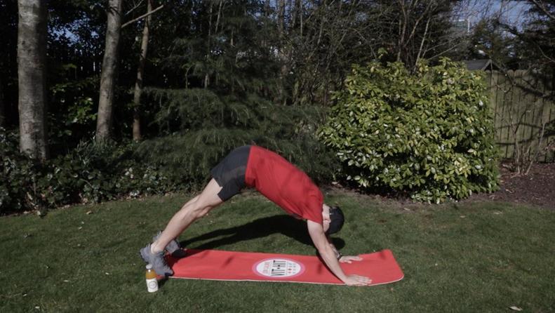 Jack Tuite's home workout to burn energy