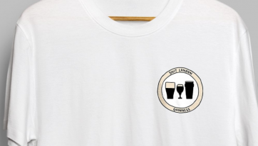 Pint loving pals will ADORE these deadly t-shirts